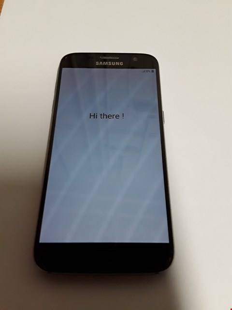 Lot 11159 SAMSUNG GALAXY S7 32GB MOBILE PHONE - BLACK