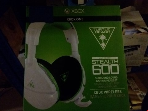 Lot 5313 TURTLE BEACH STEALTH 600 XBOX ONE SURROUND SOUND GAMING HEADSET