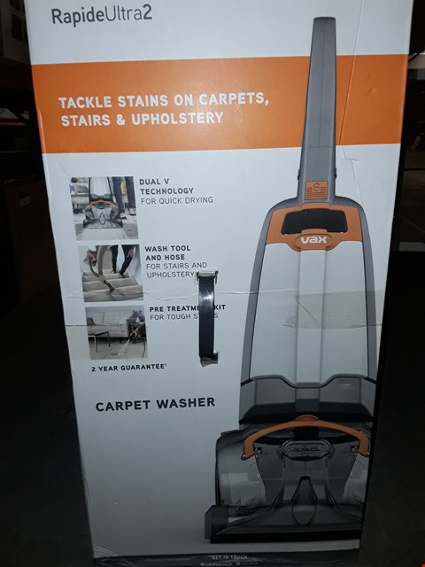 Lot 10029 VAX RAPIDE ULTRA 2 CARPET WASHER