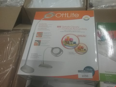 Lot 25 BOXED OTTLITE 2 IN 1 LED MAGNIFIER FLOOR AND TABLE LIGHT