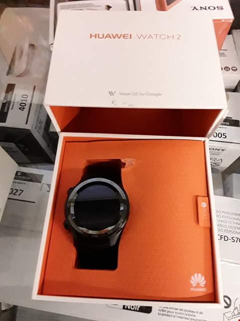 Lot 4078 GRADE 1 HUAWEI WATCH 2 BLUETOOTH SPORT SMARTWATCH RRP £280