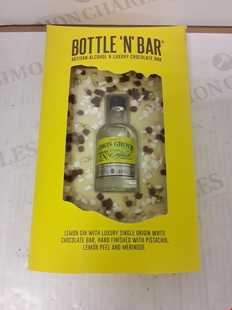 Lot 9035 BOTTLE N BAR WITH LEMON GIN RRP £14.99