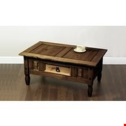 Lot 51 BOXED MERIDA DARK COFFEE TABLE (1 BOX)
