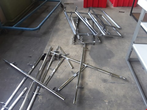 Lot 2010 APPROXIMATELY 10 METAL SHELVING PARTS