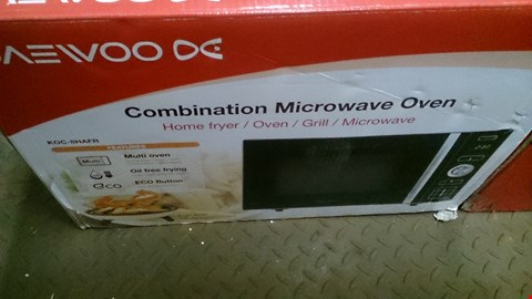 Lot 600 BOXED DAEWOO HOME FRYER,OVEN, GRILL, MICROWAVE OVEN COMBI