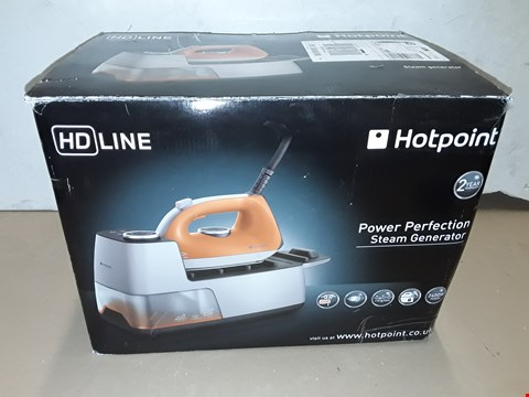 Lot 8003 BOXED HOTPOINT HD-LINE STEAM GENERATOR IRON