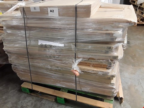 Lot 84 PALLET OF MID HEIGHT END PANELS