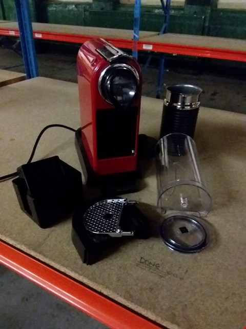 Lot 109 KRUPS XN7605 COFFEE MACHINE - RED