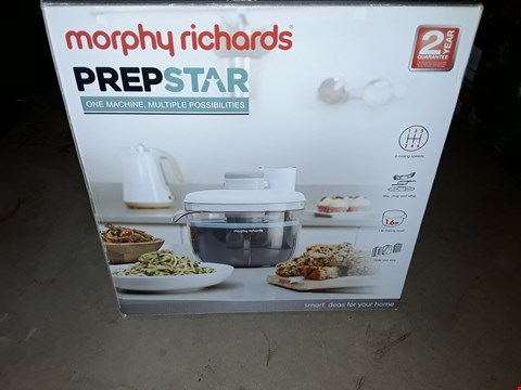 Lot 709 MORPHY RICHARDS PREPSTAR FOOD PROCESSOR
