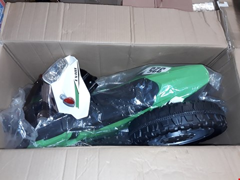 Lot 1357 BOXED VOLT 6V BATTERY OPERATED MOTOBIKE RRP £160