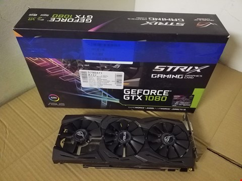 Lot 8016 ASUS STRIX GTX 1080 GRAPHICS CARD