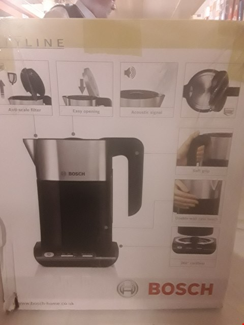 Lot 2069 BOSCH STYLINE KETTLE WITH TEMPERATURE CONTROL & KEEP WARM FUNCTION