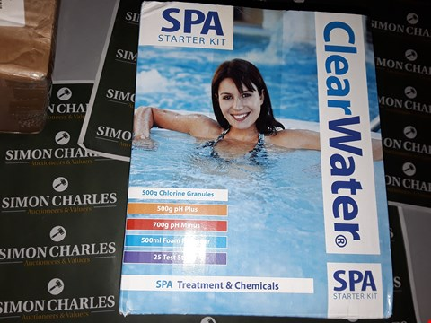 Lot 7536 CLEARWATER SPA STARTER KIT  RRP £42.99