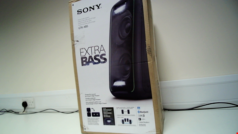 Lot 18123 SONY GTK-XB5 HIGH POWER ONE BOX MUSIC SYSTEM RRP £200.00