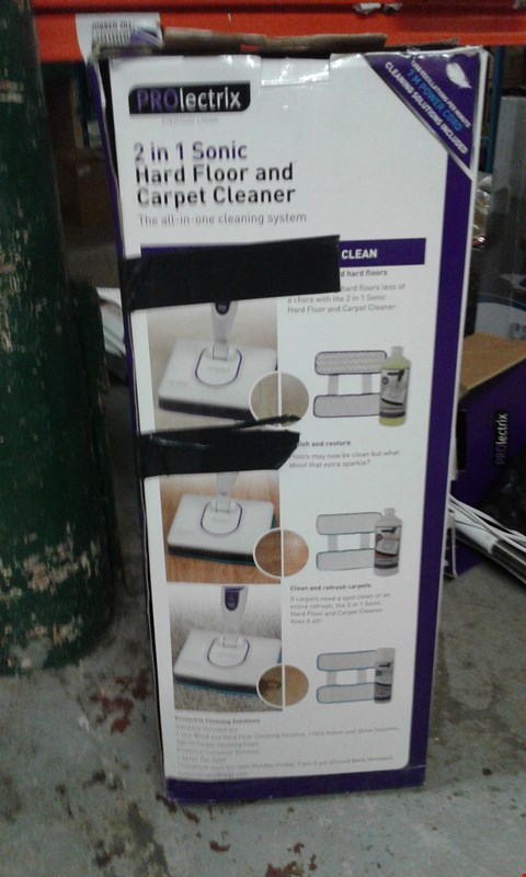 Lot 1 PROLECTRIX 2IN1 HARD FLOOR & CARPET CLEANER