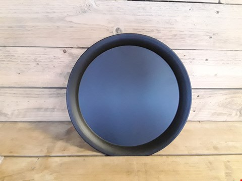 Lot 7204 BLACK STEEL SERVING PLATE