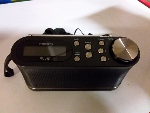 Lot 1063 ROBERTS PLAY10 DIGITAL RADIO
