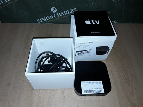 Lot 8233 BOXED APPLE TV BOX - A1378