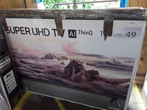 "Lot 1041 LG 49"" SUPER UHD NANO CELL 4K HD TELEVISION MODEL 49SK800PLB RRP £1570.00"
