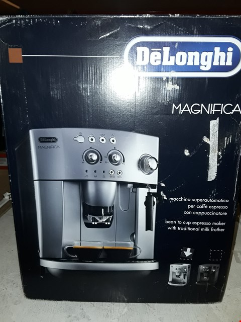 Lot 10042 DELONGHI MAGNIFICA BEAN TO CUP COFFEE MACHINE