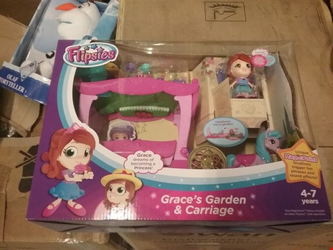 Lot 95 VTECH FLIPSIES GRACE'S GARDEN AND CARRIAGE