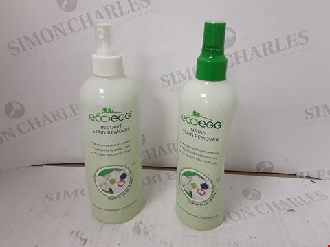 Lot 229 ECOEGG 2 X 480ML INSTANT STAIN REMOVER SPRAY