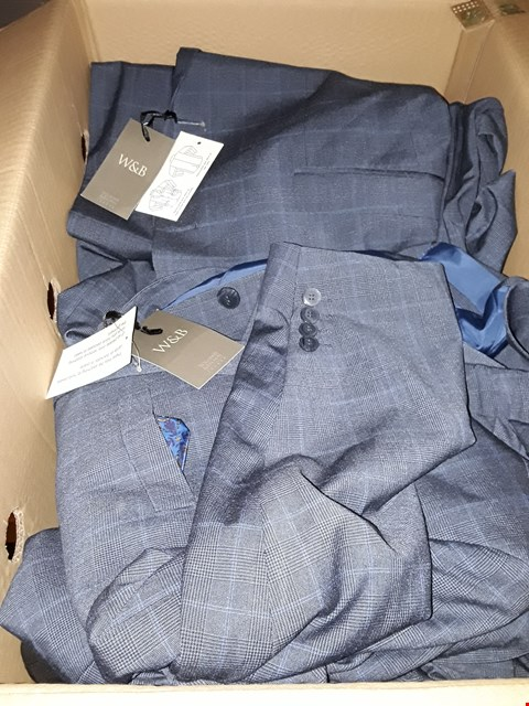 Lot 80 LOT OF APPROXIMATELY 22 ITEMS FROM NEW WILLIAMS & BROWN SUIT JACKETS AND TROUSERS