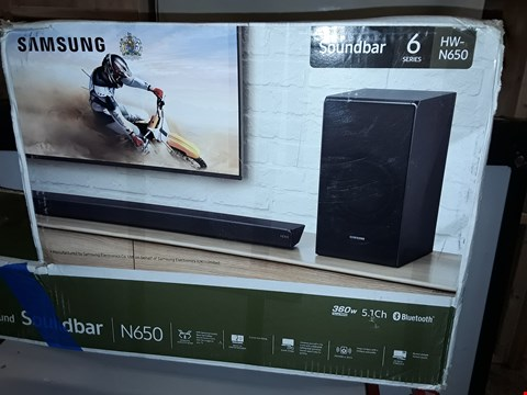 Lot 12745 SAMSUNG SOUNDBAR 6 SERIES HW-N650