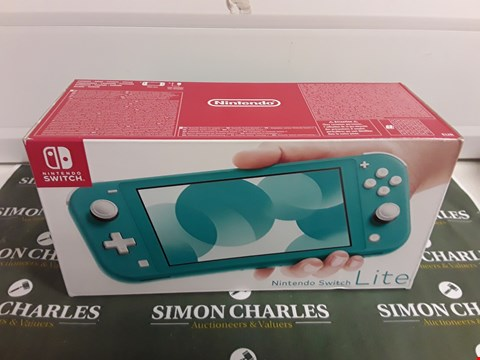 Lot 1275 NINTENDO SWITCH LITE TURQUOISE CONSOLE
