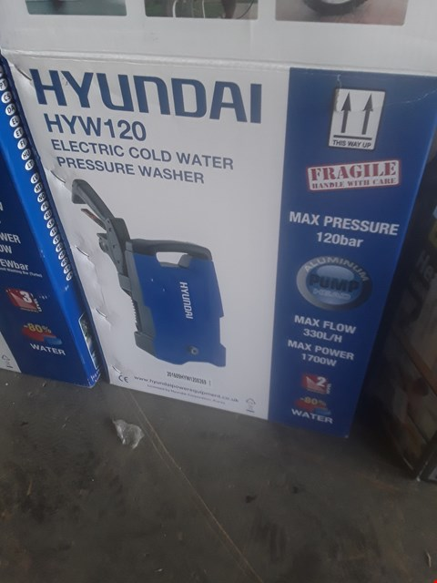 Lot 1253 HYUNDAI HYW120 PRESSURE WASHER