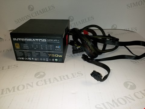 Lot 17524 AEROCOOL INTERGRATIOR MOD XT 750W  PROFESSIONAL POWER SUPPLY