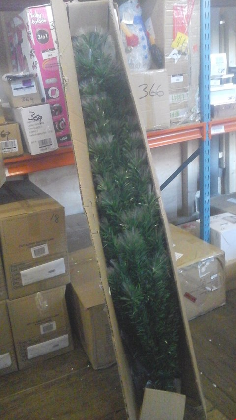 Lot 231 BOXED 6 FT MULTIFUNCTION FIBRE OPTIC CHRISTMAS TREE RRP £150.00