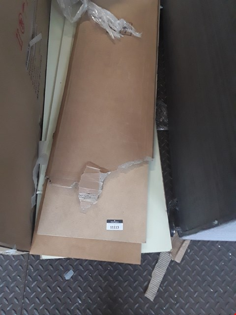 Lot 11113 LOT OF ASSORTED FLAT PACK FURNITURE PARTS