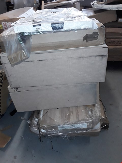 Lot 7071 PALLET OF ASSORTED FLAT PACK BED PARTS