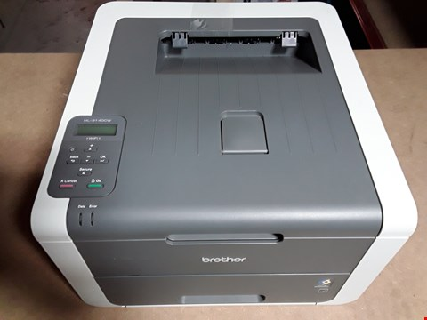 Lot 8119 BROTHER COMPACT COLOUR PRINTER HL-3140CW
