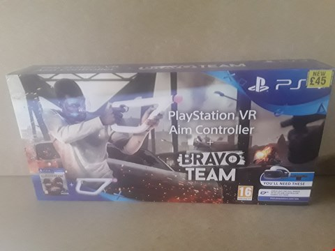 Lot 11 BRAND NEW BOXED PLAYSTATION VR AIM CONTROLLER + BRAVO TEAM FOR PS4