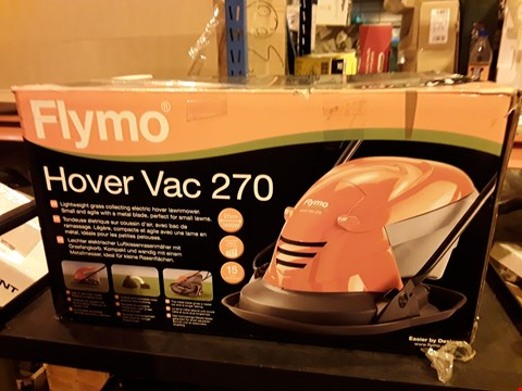 Lot 4365 FLYMO HOVER VAC 270 ELECTRIC HOVER LAWN MOWER