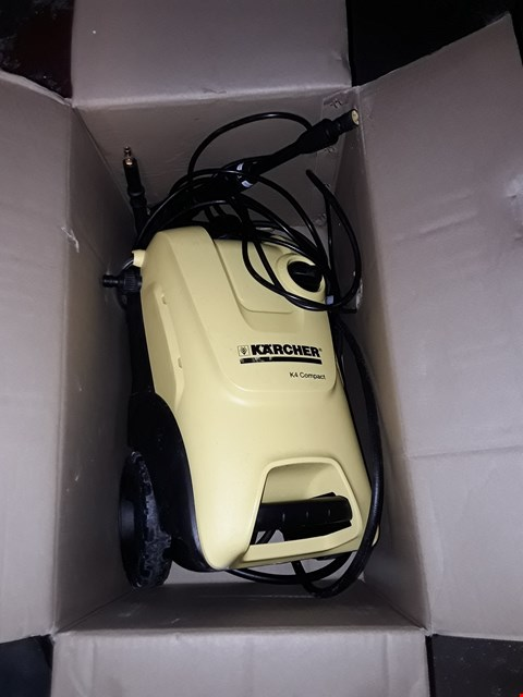 Lot 12550 KARCHER K4 COMPACT PRESSURE WASHER