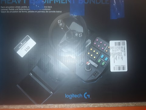 Lot 150 LOGITECH G SAITEK FARM SIM CONTROLLER PRECISION CONTROL SYSTEM FOR PC