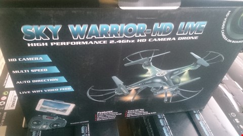 Lot 1026 BOXED SKY WARRIOR HD LIVE DRONE