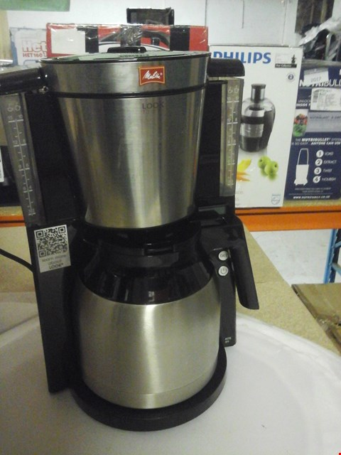 Lot 2085 MELITTA THERM TIMER COFFEE FILTER MACHINE