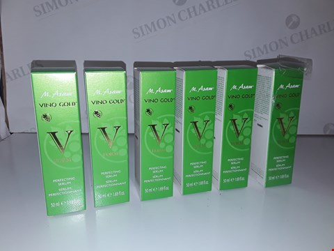 Lot 5200 LOT OF 6 M.ASAM VINO GOLD V FORM PERFECTING SERUM 50ML