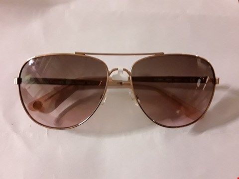 Lot 7202 BRAND NEW JUICY ROSE GOLD AVIATOR SUNGLASSES  RRP £145