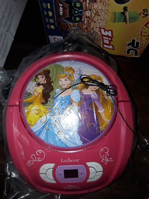 Lot 1084 DISNEY PRINCESS RADIO CD PLAYER BOOMBOX RRP £49.99