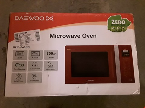 Lot 527 DAEWOO ECO MICROWAVE