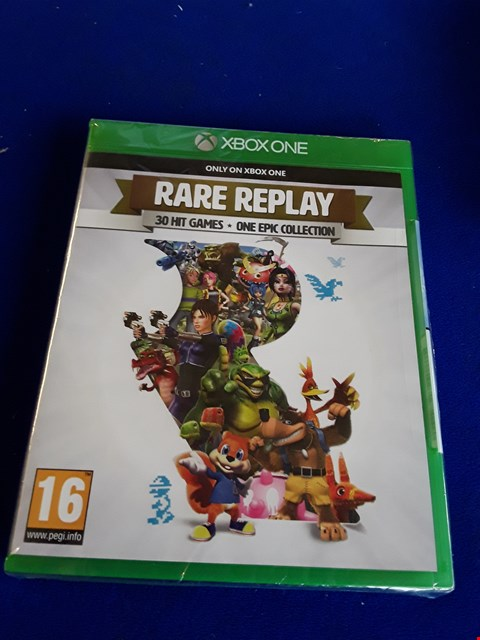 Lot 7642 RARE REPLAY XBOX ONE GAME