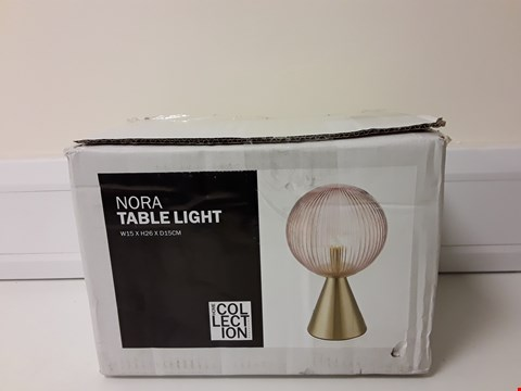 Lot 6035 BOXED NORA TABLE LIGHT