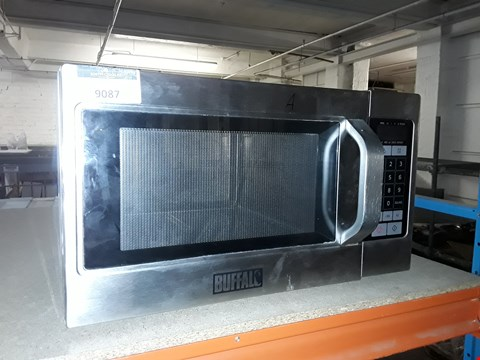 Lot 9087 BUFFALO GK642 STAINLESS STEEL MICROWAVE