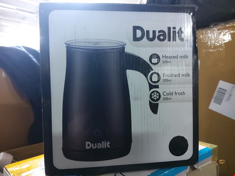 Lot 862 DUALIT MILK FROTHER