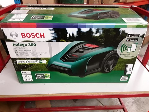 Lot 132 BOSCH INDEGO 350 CONNECT ROBOTIC LAWNMOWER